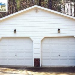 one story detached garage