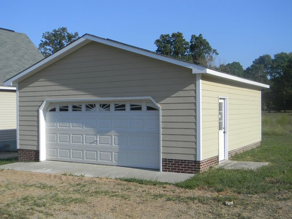Image gallery detached garage for Building detached garage cost