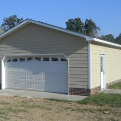 2-car garage in Cary, NC