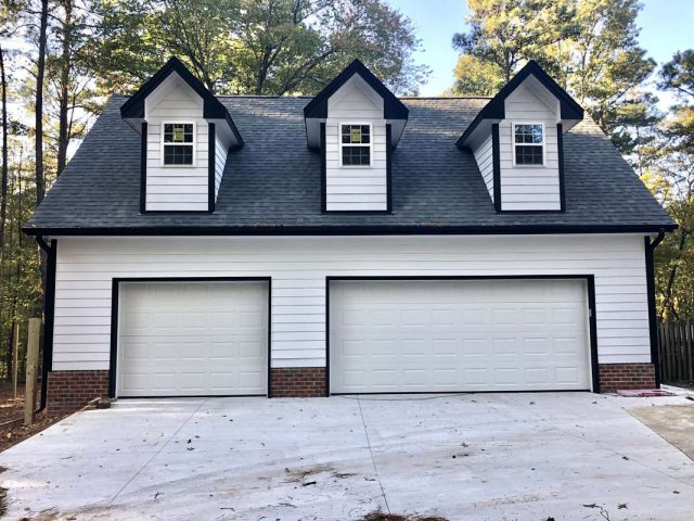 40'x 26' One and One-Half Story Detached Garage