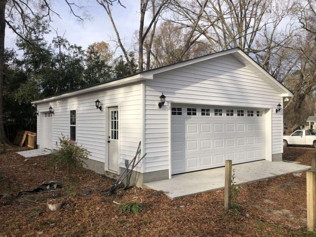 24'x 36' One Story Detached Garage